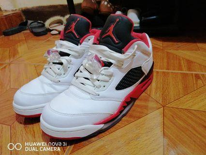 Jordan 5 low fire red Rush!! Rush!!!!