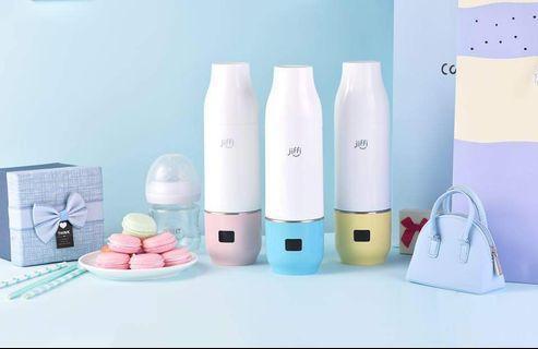 超人氣熱賣🔥【#美國JIFFI智能沖奶神器】🔥便攜保溫加熱器+定量儲奶粉罐 [2色現貨] 粉色/藍色🔥現貨價$299(包到順豐站/智能櫃或佐敦交收) 即買即寄