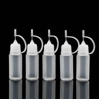 🚚 加油瓶 10ML毫升油瓶 霧化器尖嘴果汁瓶 PET煙油瓶 針孔加油瓶 (空瓶)