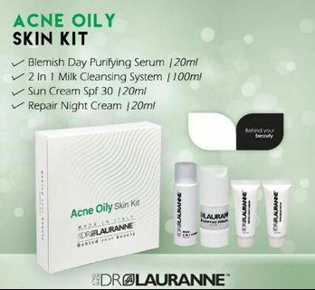 Dr Lauranne skincare set