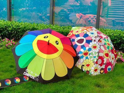 日本直送🇯🇵 Takashi murakami村上隆 Complexcon限定太陽花雨傘/太陽傘⛱️