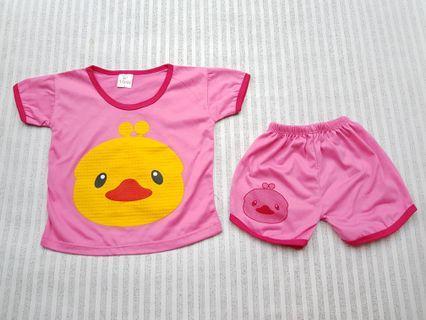 Setelan baby duck