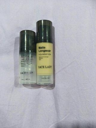 🆓📦Sace lady primer and foundation