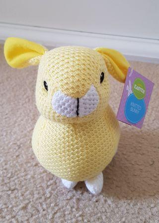 Knitted bunny