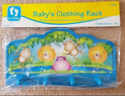 1st Steps Baby's clothing rack