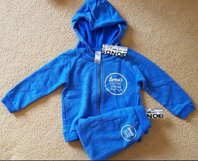 Bonds hoodie and trackpant set, s 1