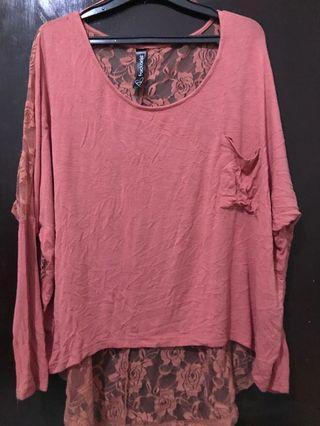 Rose gold top
