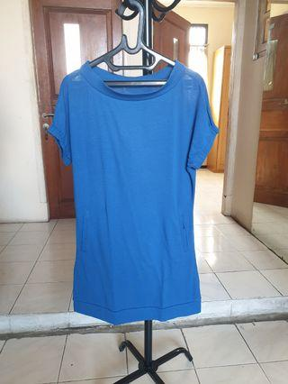 Mini Dress Blue Electric