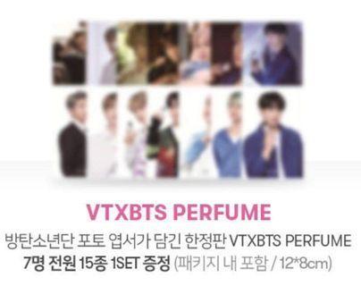 [MY GO] BTS X VT L'ATELIER PERFUME (postcards only)