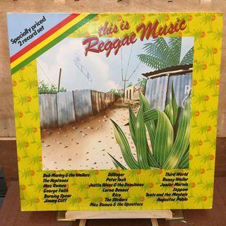 This Is Reggae Music Compilations vinyl LP