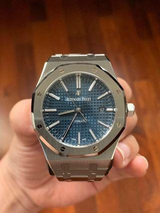 "AP Royal Oak 15400st Blue Dial ""Boutique Only"""