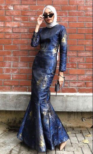 Hijabistahub Selena Luxe Kurung