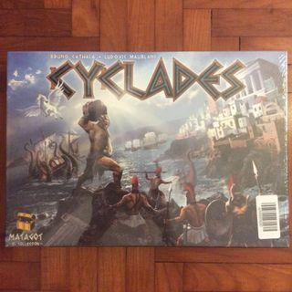 Cyclades board game (slightly torn)