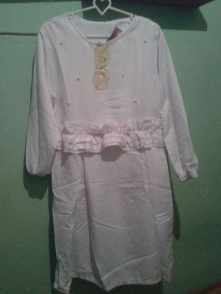 Tunik Putih Diamond