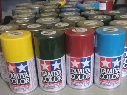 TAMIYA雙星 模型噴漆 $300十二罐