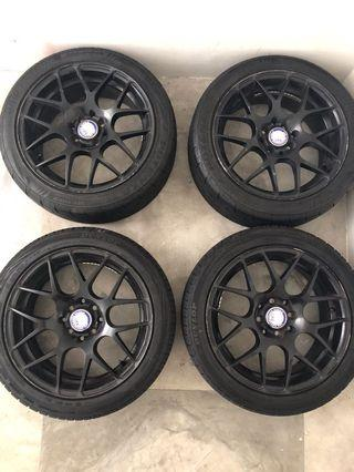 205/45/16 tyres with rims