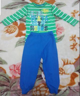 *NEW* Age 4+ 2pc Cotton-Wool Boy's Shirt-Trouser Set