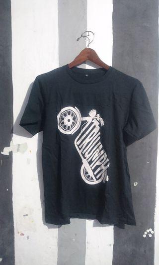Triumph Motorcycles Shirt kaos Baju size S