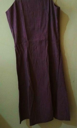 Dress baby purple