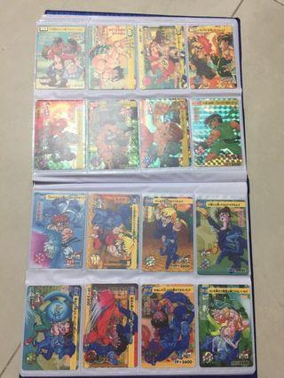 Streetfighter and Digimon card album