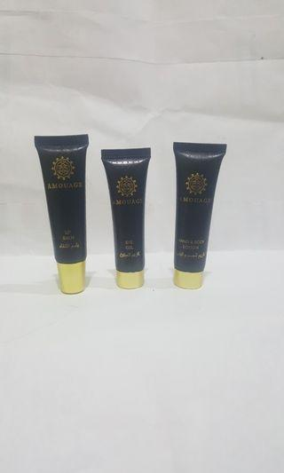 Amouage Eye. Lip. Body Lotion