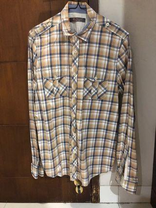 Ben Sherman checker shirt size small