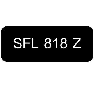 Car Number Plate for Sale: SFL 818 Z