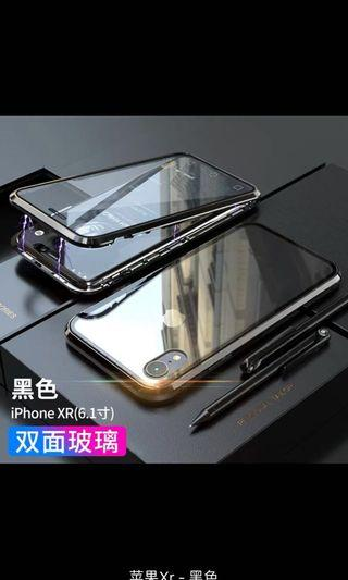 🚚 Brand new REMAX IPhone XR 9D glass magnet casing