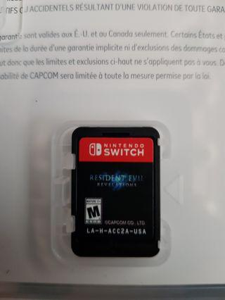Resident Evil Revelations Switch