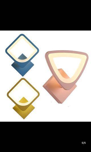 淘x啡色可調較角度壁燈x2