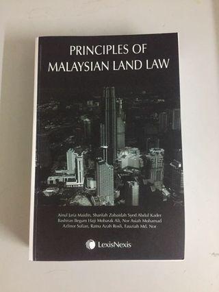Principle of Malaysian Land Law