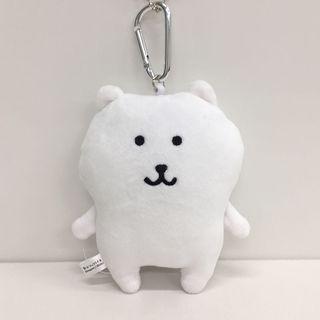 🚚 【Lily搬家出清】自嘲熊吐槽熊 吐槽自己的白熊 Joke bear 北極熊 日本帶回 限量扣環式絨毛票卡包Line貼圖