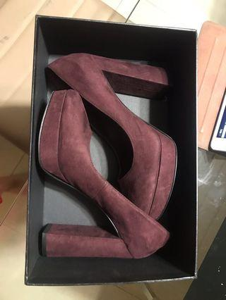 Velvet Heels - great condition