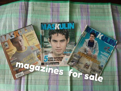 Magazines for grabs (Masculine)