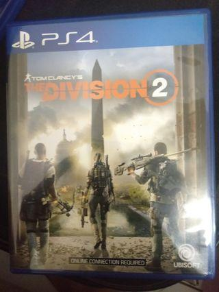 Kaset PS 4 secon berkualitas ( the division 2 , the witcher , just cause )