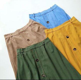 retro skirt jeans by loop&co #ramadansale