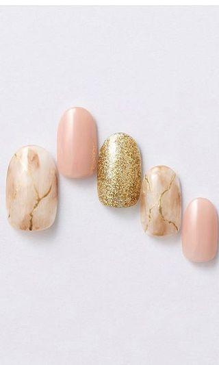 Nail wear handmade , custom made presson nail