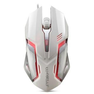 Wired Gaming Mouse Adjustable DPI Colorful LED Light