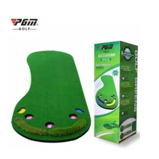 PGM Golf Putting Mat Golf Trainer Carpet Big Feet Golf Trainer Mat Artificial Grass Carpet Professional Practice Golf Putting Green #2simulated grass