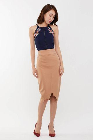 YACHT 21 / Meora Midi Pencil Skirt
