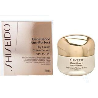 Last one~Shiseido benefiance nutriperfect day cream SPF 15 50 ml BENEFIANCE 完美滋養活膚日霜