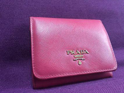 Prada 銀包 wallet