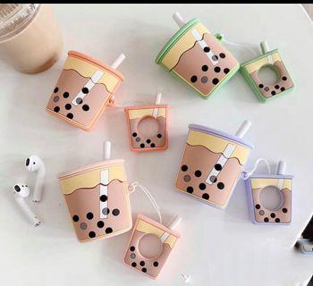 BoBa Tea Iphone EarBud Case