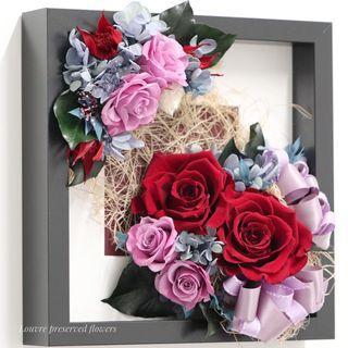 Preserved Flowers Frame