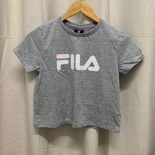 (REDUCED) Fila Grey Pink Kids Size 12 Tee