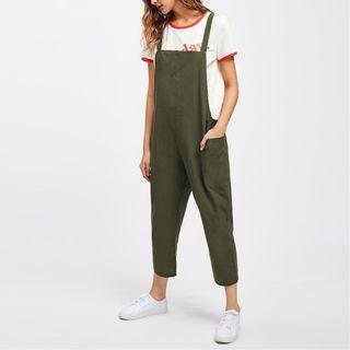 Relax Fit Overall With Pockets