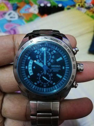 Seiko chronograph for sale