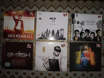 CD Album Penyanyi & Band Lokal: Sammy, Ungu, Noah, Smash, Agnez Mo, Ello