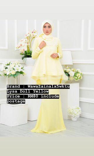 Wawa Zainal Lyssa Doll Kurung