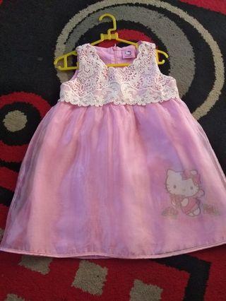 Hello kitty dress baby 1-3thn original #HBDSale